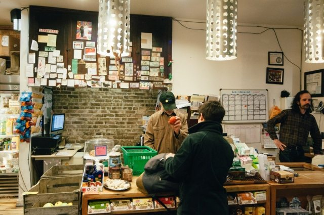 Dill Pickle Checkout Counter